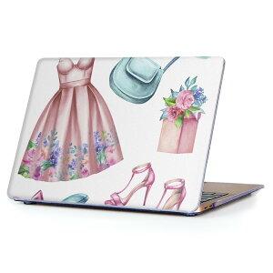 MacBook Air 13inch 2010  2017 専用 デザインハードケース A1466 A1369 Apple マックブック エア ノートパソコン カバー ケース ハードカバー クリア 透明 015588 服 ドレス かわいい ファッション
