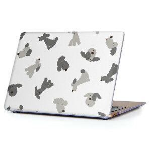 MacBook Air 13inch 2010  2017 専用 デザインハードケース A1466 A1369 Apple マックブック エア ノートパソコン カバー ケース ハードカバー クリア 透明 016063 犬 かわいい