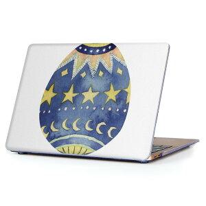 MacBook Air 13inch 2010  2017 専用 デザインハードケース A1466 A1369 Apple マックブック エア ノートパソコン カバー ケース ハードカバー クリア 透明 016074 イースター 星 かわいい