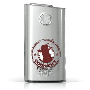 glo グロー グロウ 専用 クリアケース クリアカバー タバコ ケース カバー 透明 ハードケース カバー 収納 デザイン ポリカーボネート 002630 ユニーク ハード glo001pccl