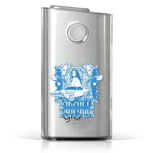 glo グロー グロウ 専用 クリアケース クリアカバー タバコ ケース カバー 透明 ハードケース カバー 収納 デザイン ポリカーボネート 002704 ユニーク ハード glo001pccl