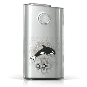 glo グロー グロウ 専用 クリアケース クリアカバー タバコ ケース カバー 透明 ハードケース カバー 収納 デザイン ポリカーボネート 011421 ハード glo001pccl