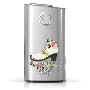 glo グロー グロウ 専用 クリアケース クリアカバー タバコ ケース カバー 透明 ハードケース カバー 収納 デザイン ポリカーボネート 014525 ハード glo001pccl