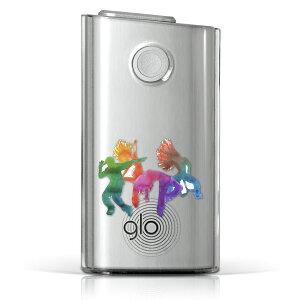 glo グロー グロウ 専用 クリアケース クリアカバー タバコ ケース カバー 透明 ハードケース カバー 収納 デザイン ポリカーボネート 014753 ハード glo001pccl