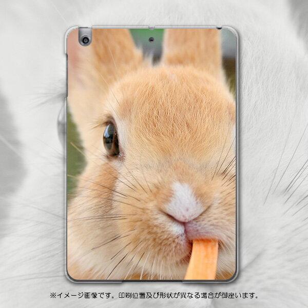 iPadmini iPad mini アイパッドミニ softbank ソフトバンク スマホ カバー 全機種対応 あり ケース スマホケース スマホカバー PC ハードケース うさぎ 動物 写真 アニマル 002807