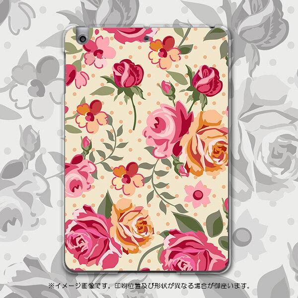 iPadmini iPad mini アイパッドミニ softbank ソフトバンク スマホ カバー 全機種対応 あり ケース スマホケース スマホカバー PC ハードケース 薔薇 花 ピンク フラワー 004834