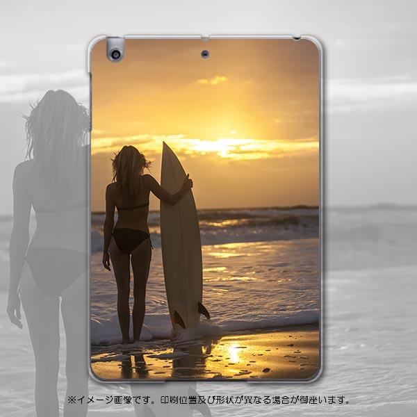 iPadmini iPad mini アイパッドミニ softbank ソフトバンク スマホ カバー 全機種対応 あり ケース スマホケース スマホカバー PC ハードケース 写真 海 夕日 人物 写真・風景 006520