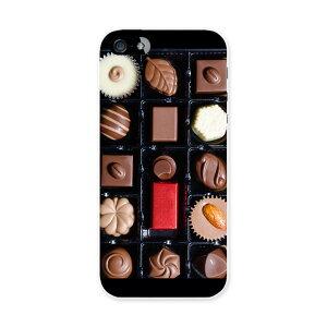 iphone5au iPhone 5 アイフォーン APPLE au エーユー スマホ カバー スマホケース ハード pc ケース ハードケース チョコ バレンタイン ラブリー 000054