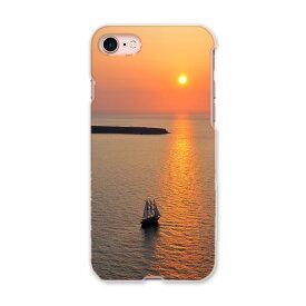 iphone8 iphone 8 softbank ソフトバンク スマホ カバー ケース スマホケース スマホカバー PC ハードケース 003276 海 写真 景色 風景