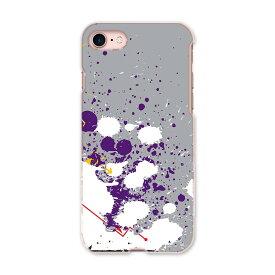 iphone7 iphone 7 softbank ソフトバンク スマホ カバー ケース スマホケース スマホカバー TPU ソフトケース インク ペンキ 灰色 グレー ユニーク 007574