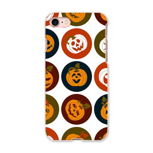 iphone8 iphone 8 アイフォーン softbank ソフトバンク スマホ カバー スマホケース スマホカバー TPU ソフトケース 008538 かぼちゃ アイコン 赤 レッド 模様