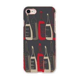 iphone7 iphone 7 softbank ソフトバンク スマホ カバー ケース スマホケース スマホカバー TPU ソフトケース お酒 イラスト シック ユニーク 008719