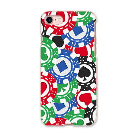 iphone7 iphone 7 softbank ソフトバンク スマホ カバー ケース スマホケース スマホカバー TPU ソフトケース チップ トランプ カジノ ユニーク 008743