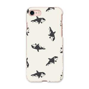 iPhone SE 2020 専用ハードケース iPhone8 iPhone7 iPhone6/6s 共通対応 全機種対応 あり ケース スマホケース スマホカバー PC ハードケース 010349 海 動物 くじら