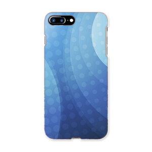 iphone7plus phone 7 plus APPLE softbank ソフトバンク スマホ カバー ケース スマホケース スマホカバー TPU ソフトケース 001780 シンプル 模様 青