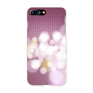 iphone7plus phone 7 plus APPLE softbank ソフトバンク スマホ カバー ケース スマホケース スマホカバー TPU ソフトケース 002033 シンプル 紫