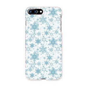 iphone7plus phone 7 plus APPLE softbank ソフトバンク スマホ カバー ケース スマホケース スマホカバー TPU ソフトケース 005682 雪 結晶 模様