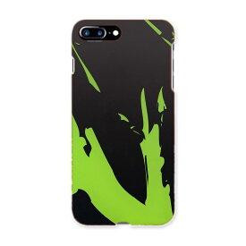 iphone7plus iphone 7 plus APPLE softbank ソフトバンク スマホ カバー ケース スマホケース スマホカバー TPU ソフトケース 黄緑 きみどり インク ペンキ その他 007421