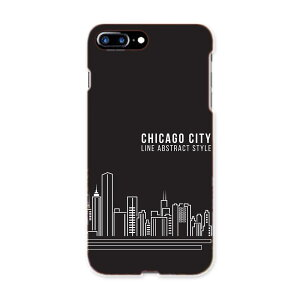 iphone7plus phone 7 plus APPLE softbank ソフトバンク スマホ カバー ケース スマホケース スマホカバー TPU ソフトケース 011352 シカゴ 外国 街並み