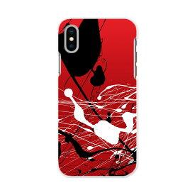 iPhone X iPhone 10 アイフォーン エックス テン iphonex iphone10 softbank ソフトバンク スマホ カバー スマホケース スマホカバー TPU ソフトケース 赤 レッド インク クール 007233
