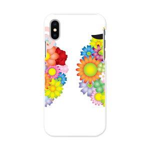iPhone X iPhone 10 アイフォーン エックス テン iphonex APPLE softbank ソフトバンク スマホ カバー スマホケース スマホカバー PC ハードケース 花 フラワー ひつじ 羊 カラフル アニマル 008567