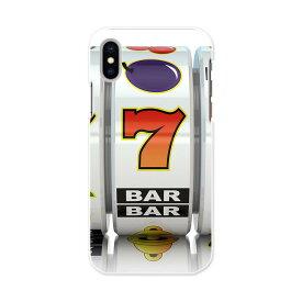 iPhone X iPhone 10 アイフォーン エックス テン iphonex APPLE softbank ソフトバンク スマホ カバー スマホケース スマホカバー PC ハードケース スロット カジノ 赤 レッド ユニーク 008613