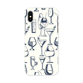 iPhone X iPhone 10 アイフォーン エックス テン APPLE softbank ソフトバンク iphonex スマホ カバー ケース スマホケース スマホカバー TPU ソフトケース 010802 ワイン お酒 カクテル