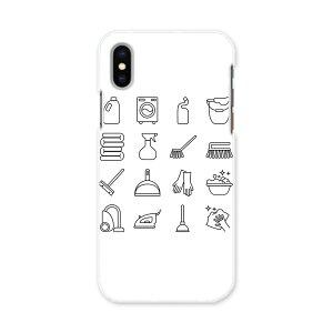 iPhone X iPhone 10 アイフォーン エックス テン iphonex APPLE softbank ソフトバンク スマホ カバー ケース スマホケース スマホカバー PC ハードケース 015552 家事 掃除 洗濯