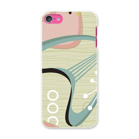 iPod touch 7(2019)/6(2015) アイポッドタッチ 第7世代 第6世代 対応 ケース スマホ カバー スマホケース スマホカバー PC ハードケース 001853 ハート 花 イラスト