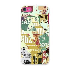 iPod touch 7(2019)/6(2015) アイポッドタッチ 第7世代 第6世代 対応 ケース スマホ カバー スマホケース スマホカバー PC ハードケース 002523 英語 文字 ビンテージ