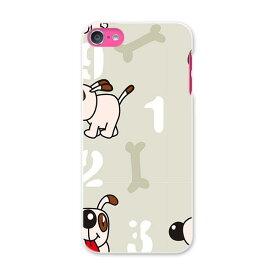 iPod touch 7(2019)/6(2015) アイポッドタッチ 第7世代 第6世代 対応 ケース スマホ カバー スマホケース スマホカバー PC ハードケース 004306 犬 キャラクター 模様