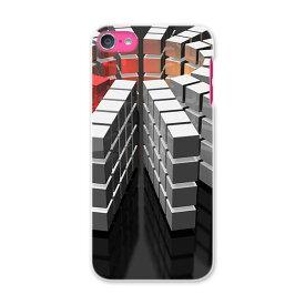 iPod touch 7(2019)/6(2015) アイポッドタッチ 第7世代 第6世代 対応 ケース スマホ カバー スマホケース スマホカバー PC ハードケース 007819 赤 レッド CG 黒 ブラック