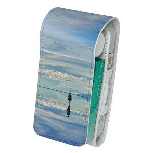「宅配便専用」iQOS アイコス 専用 レザーケース 従来型 / 新型 2.4PLUS 両対応 タバコ ケース カバー 合皮 クリーナー 収納 アイコスケース デザイン 写真 風景 景色 003298