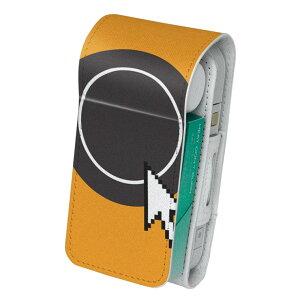 「宅配便専用」iQOS アイコス 専用 レザーケース 従来型 / 新型 2.4PLUS 両対応 タバコ ケース カバー 合皮 クリーナー 収納 アイコスケース デザイン ナイフ フォーク 006210
