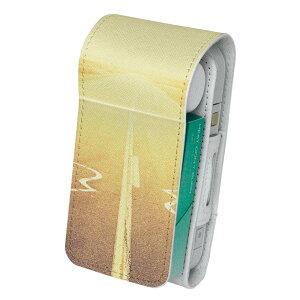 「宅配便専用」iQOS アイコス 専用 レザーケース 従来型 / 新型 2.4PLUS 両対応 タバコ ケース カバー 合皮 クリーナー 収納 アイコスケース デザイン 外国 風景 写真 011322