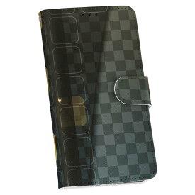 SCV33 Galaxy S7 edge ギャラクシー au エーユー 手帳型 スマホ カバー カバー レザー ケース 手帳タイプ フリップ ダイアリー 二つ折り 革 その他 市松模様 000360