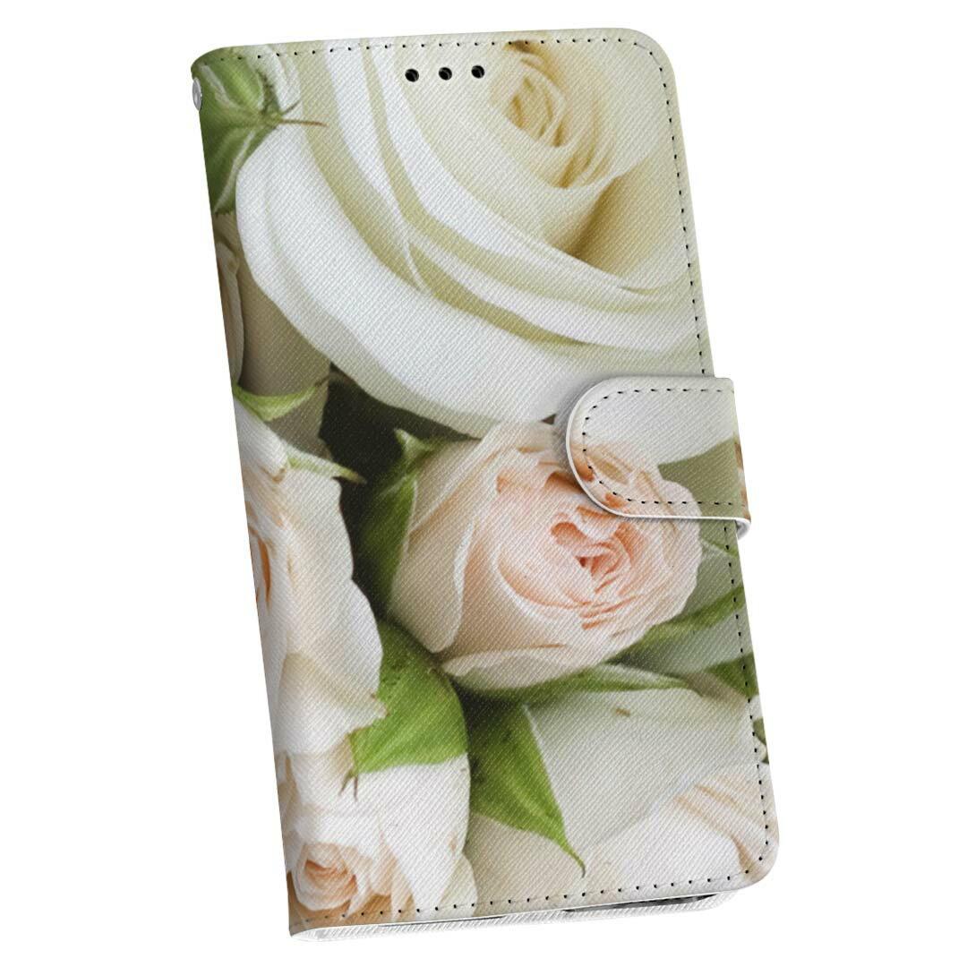 SHV35 AQUOS U アクオス ユー shv35 au エーユー 手帳型 スマホ カバー 全機種対応 あり カバー レザー ケース 手帳タイプ フリップ ダイアリー 二つ折り 革 000885 バラ 花柄