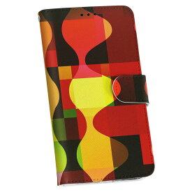 SCL23 GALAXY S5 ギャラクシー au エーユー 手帳型 スマホ カバー カバー レザー ケース 手帳タイプ フリップ ダイアリー 二つ折り 革 002483 模様 赤 黄色