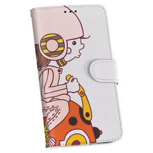 SCV36 Galaxy S8 ギャラクシー s8 au エーユー 手帳型 スマホ カバー レザー ケース 手帳タイプ フリップ ダイアリー 二つ折り 革 ラブリー ユニーク その他 キャラクター 人物 ピンク 003512