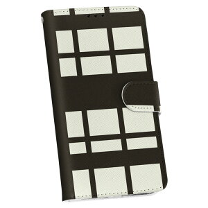 SO-01F XPERIA Z1 エクスペリアz1 docomo ドコモ so01f 手帳型 スマホ カバー カバー レザー ケース 手帳タイプ フリップ ダイアリー 二つ折り 革 003775 チェック 白 黒