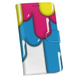 iphone XR iPhone 10r アイフォーン エックスアール テンアール iphonexr softbank docomo au 手帳型 スマホ カバー レザー ケース 手帳タイプ フリップ ダイアリー 二つ折り 革 005605 インク ペンキ