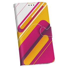 SCL23 GALAXY S5 ギャラクシー au エーユー 手帳型 スマホ カバー カバー レザー ケース 手帳タイプ フリップ ダイアリー 二つ折り 革 005870 ピンク イエロー 模様