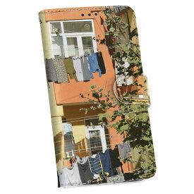 ZenFone Go ZB551KL simfree SIMフリー 手帳型 スマホ カバー レザー ケース 手帳タイプ フリップ ダイアリー 二つ折り 革 その他 写真 カラフル 家 006525