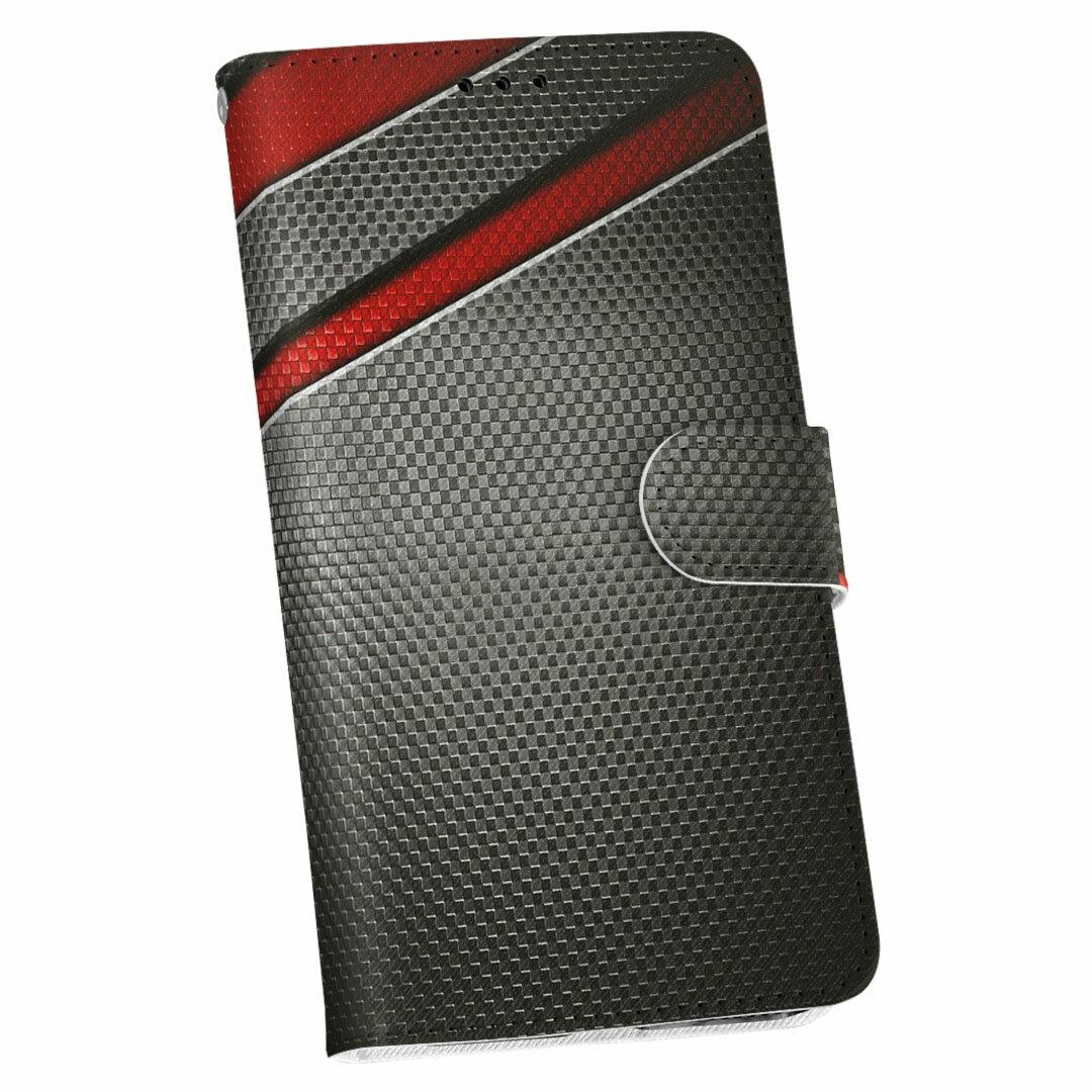SH-04H AQUOS ZETA アクオスフォン ゼータ sh04h docomo ドコモ 手帳型 スマホ カバー 全機種対応 あり カバー レザー ケース 手帳タイプ フリップ ダイアリー 二つ折り 革 黒 赤 かっこいい  013267
