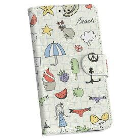ZenFone Go ZB551KL simfree SIMフリー 手帳型 スマホ カバー レザー ケース 手帳タイプ フリップ ダイアリー 二つ折り 革 014941 手書き イラスト ノート