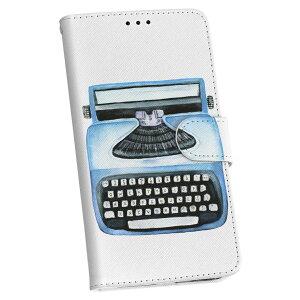L-01K V30+ LG DOCOMO ドコモ 手帳型 スマホ カバー カバー レザー ケース 手帳タイプ フリップ ダイアリー 二つ折り 革 015913 タイピングライター レトロ