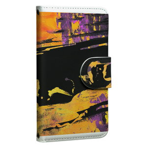 ploom TECH プルームテック 専用 レザーケース 手帳型 タバコ ケース カバー 合皮 ケース カバー 収納 プルームケース デザイン 008769 模様 ペンキ 黒 ブラック