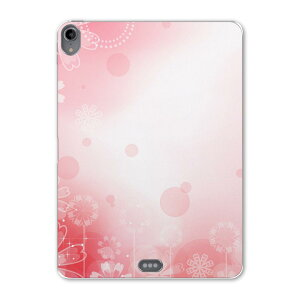 iPad Pro 11inch 第3世代 アイパッドプロ 11インチ タブレットケース タブレットカバー TPU ソフトケース A1980 A2013 A1934 A1979 001997 花 フラワー ピンク