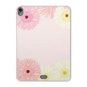 iPad Pro 11inch 第3世代 アイパッドプロ 11インチ タブレットケース タブレットカバー TPU ソフトケース A1980 A2013 A1934 A1979 004846 ピンク 花 フラワー