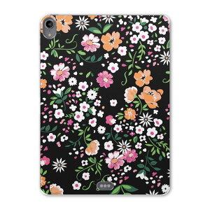 iPad Pro 11inch 第3世代 アイパッドプロ 11インチ タブレットケース タブレットカバー TPU ソフトケース A1980 A2013 A1934 A1979 005331 花 白 ピンク オレンジ